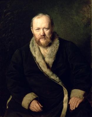 Portrait of Aleksandr Ostrovsky