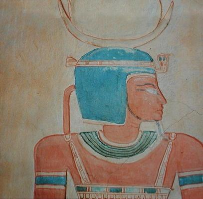 The god Shepes, from the Tomb of Prince Khaemwaset II, son of Ramesses III