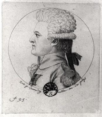 Portrait of Pierre Charles de Villeneuve