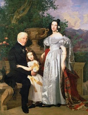 The Kerzman Family, c.1840