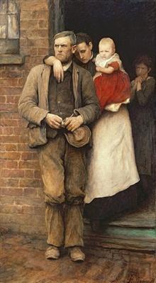 On Strike, c.1891