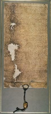 Magna Carta, the final version issued in 1225 by Henry III