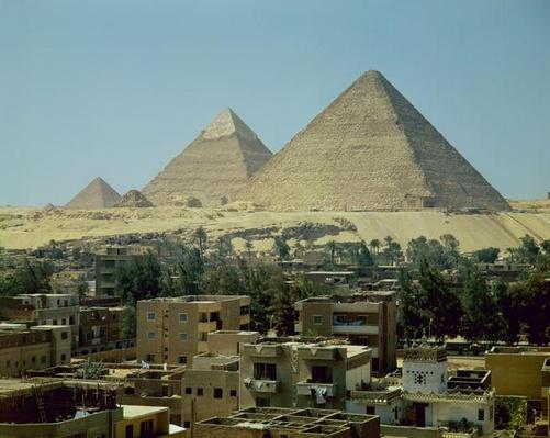 The Pyramids of Giza, c.2589-30 BC, Old Kingdom