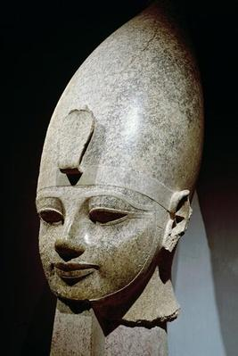 Colossal head of Amenhotep III, from al-Qurnah, New Kingdom