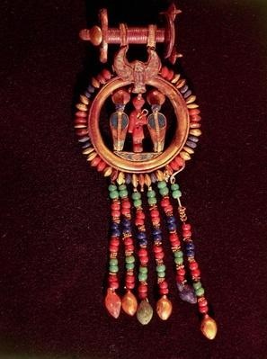 Earring from the Tomb of Tutankhamun