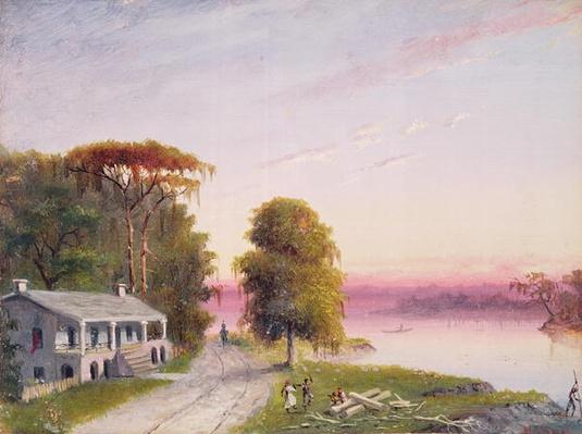 Mississippi River Plantation