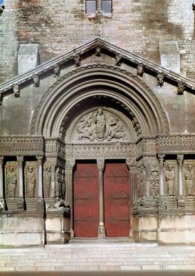 View of the portal