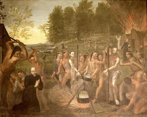 Martyrdom of three Jesuit priests, 1649