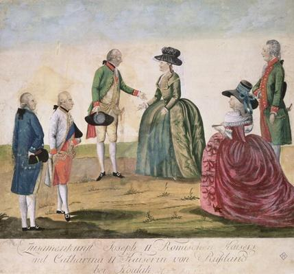 Meeting between Joseph II of Germany