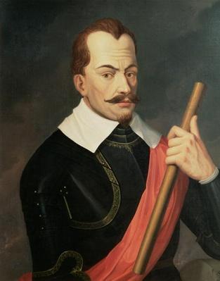 Portrait of Albrecht Wenzel Eusebius von Wallenstein