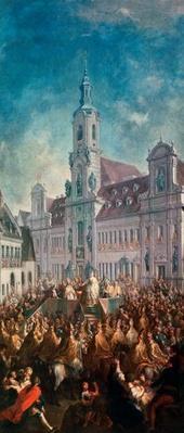 The Coronation of Empress Maria Theresa of Austria