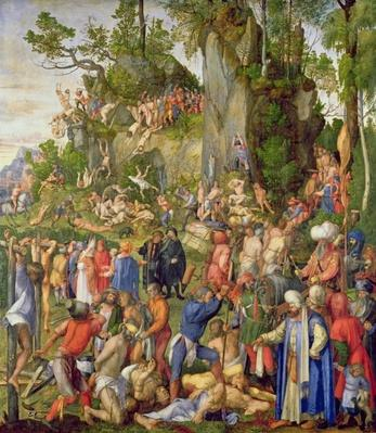 Martyrdom of the Ten Thousand, 1508