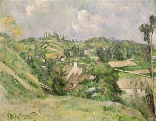 Auvers-sur-Oise, seen from the Val Harme, 1879-82