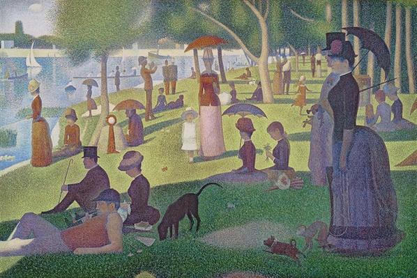 Sunday Afternoon on the Island of La Grande Jatte, 1884-86