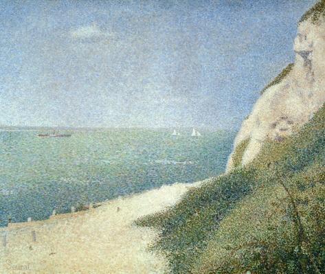 Beach at Bas Butin, Honfleur, 1886