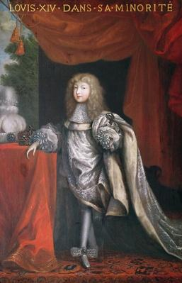 Louis XIV during his minority