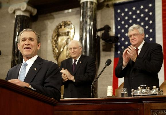 President Bush Delivers State of the Union Address | The Study of Economics