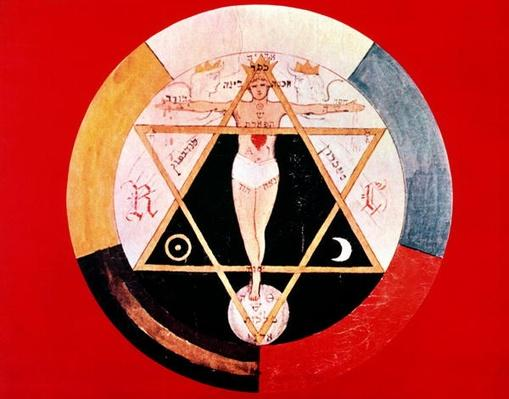 Rosicrucian symbol of the Hermetic Order of the Golden Dawn