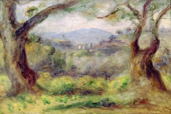 Landscape at Les Collettes, 1910
