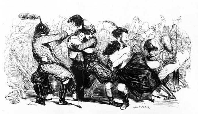 Le Bal Chicard, c.1840