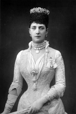 Alexandra, Queen Consort of Edward VII of Great Britain, c.1890