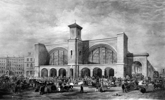 King's Cross Station, c.1852