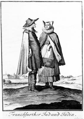A Jewish Couple from the Frankfurter Judengasse, 1703