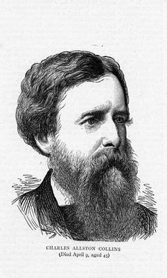 Charles Allston Collins, 1873