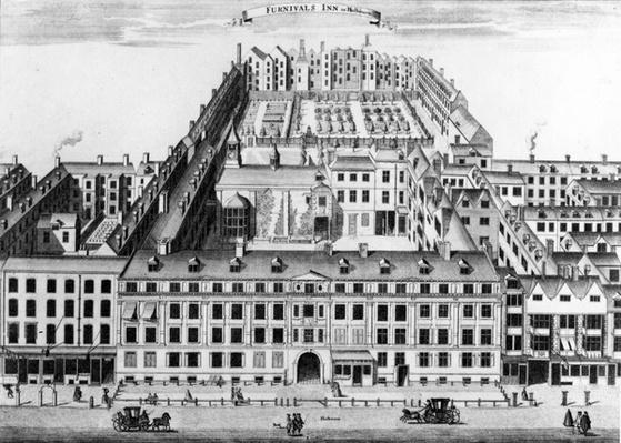 Furnival's Inn, Holborn, London, 1754