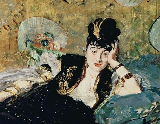 The Lady with Fans, Portrait of Nina de Callias, c.1873-74