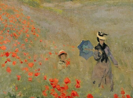 Wild Poppies, near Argenteuil by Monet, Claude (1840-1926)