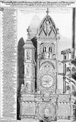 The Astronomical Clock in Strasbourg Cathedral, 1621