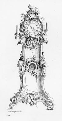 Design for a Longcase Clock, c.1750