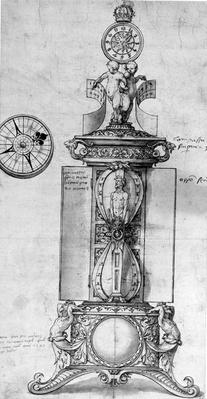 Design for a Clocksalt, c.1543