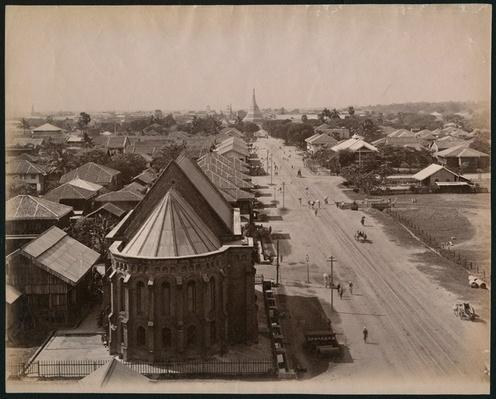 View of Rangoon, Burma, c.1880
