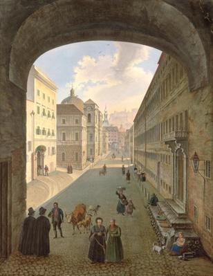 Palais Lodron, Salzburg, 1833
