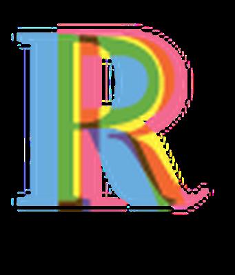 Four-Color Alphabet Letters - R | Clipart