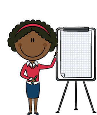 Business Lady Presentation | Clipart