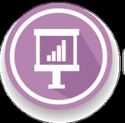 Web Icons, Violet Version - Set of 9 | Clipart