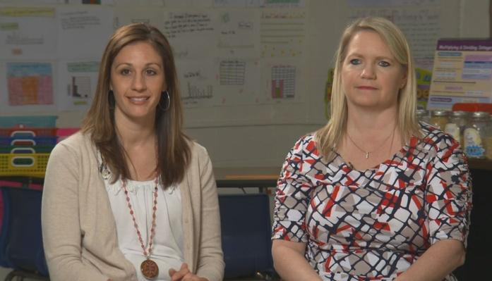 Tara Gullett & Beth Hensley: 6th Grade | Inside the Classroon: Math