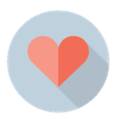 Medicine and Healthcare - Heart Symbol | Clipart