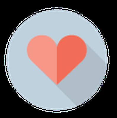 Medicine and Healthcare - Heart Symbol | Clipart