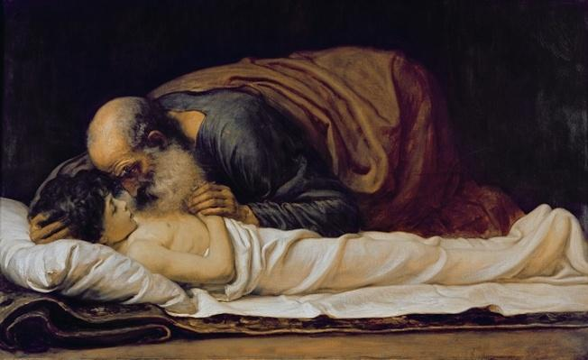 Elisha healing the son of the Shunamite widow