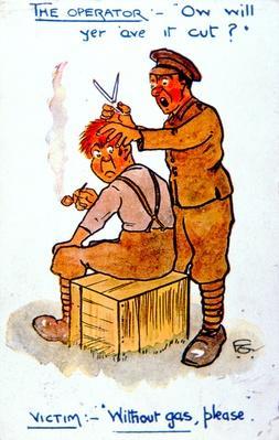 WWI postcard, 1914-18