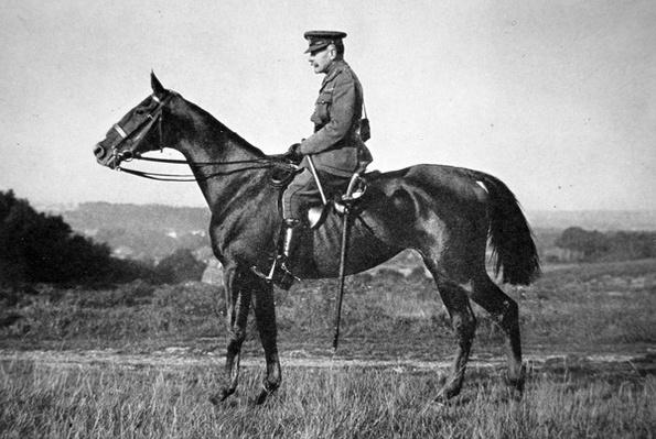 Field Marshal Sir Douglas Haig, Commander-in-Chief British Forces on Western Front, 1915-18