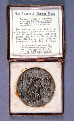 The Lusitania Medal