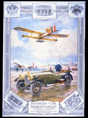 Sunbeam Car & Sunbeam-Coatalen Aircraft Engines, 27th October 1917
