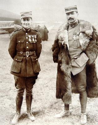 French WWI air ace Georges Guynemer