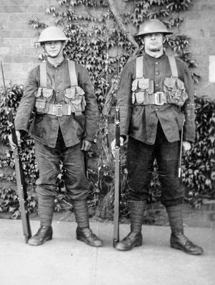 WWI British soldiers, 1914-18
