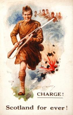'Charge! Scotland for ever!', 1914-18